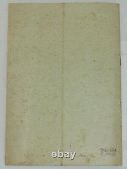 04f59 Rare Ancien Extrait Du Catalogue Général Appareil Photo Hall Mai 1909