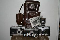 2 appareil photo FOCA une étoile + FOCA sport notice filtre sacoche lot de 3