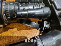 2 caméras Beaulieu super 8 et 16 mm optique 6/60 f1.8 et Angenieu 9.5/95 f1.2