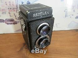 2eme SEMFLEX 6x6 TLR avec objectif Angenieux 3,5 / 75mm