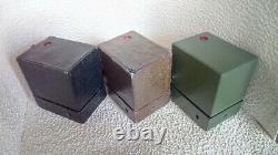 3 beau brownie N°2 kodak bleu marron et noir avec defauts