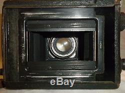 ANCIEN APPAREIL PHOTO A PLAQUES ERNEMANN WERKE AG, CARL ZEISS 13,5 P=10,5 cm