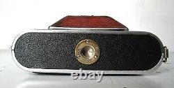 APPAREIL PHOTO ANCIEN KOCHMANN KORELLE 6X6 OPTIQUE C. ZEISS JENA TESSAR f 13.8