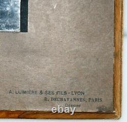 AUTOCHROME LUMIERE 13 x 18 cm avec blister 22 x 28 cm TBE