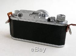 A CANON IV-SB 35mm. RANGEFINDER CAMERA AND LENS, ETC. IN EXCELLENT CONDITION