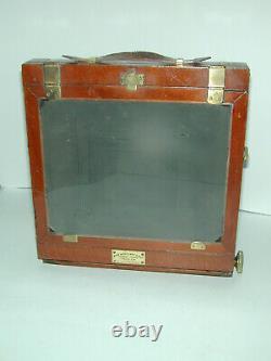 A et N Auxiliary London CHAMBRE BOIS 18x24 cm sans objectif photo photographie