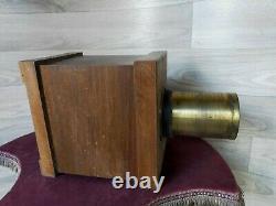 Agrandisseur solaire de négatifs charles fabre 1851 appareil photo visionneuse