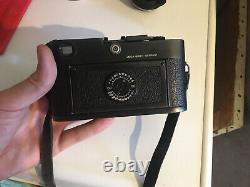 Ancien Appareil Photo De Collection Leica M6 1988 Boitier Nu