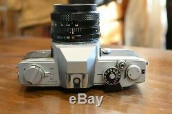 Ancien Appareil photo argentique olympus ftl plus objectif fuji 35mm f3.5