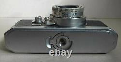 Ancien Et Bel Appareil Photo Foca + Objectif Oplar 1/28 F = 5 CM