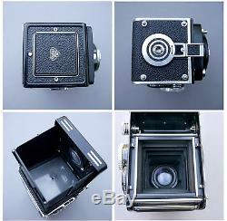 Ancien appareil photo Rolleiflex 35F