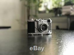Ancien appareil photo ZEISS IKON TENAX avec etui