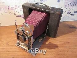 Ancien appareil photo à soufflet Girard le REVE