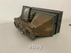 Ancien appareil stereocycle Bazin et Leroy visionneuse a restaurer ou pour pièce
