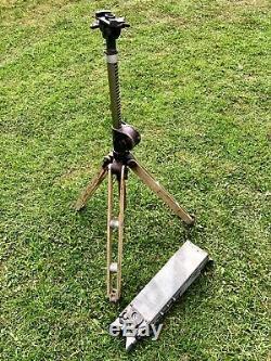Ancien appareil stéréoscopique jumelle binoculars Guerre