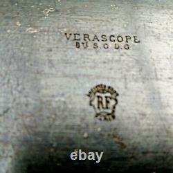 Ancien appareil verascope B. U. S. O. D. G avec sa housse