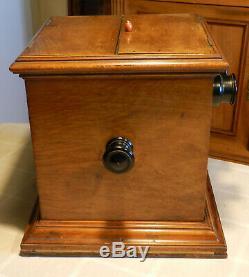Ancien stereoscope de salon de fin du 19ème siècle complet et fonctionnel