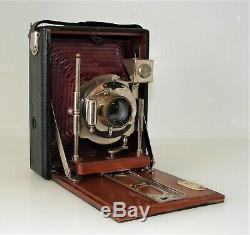 Ancienne Petite Chambre Photographique 9 X 12. Objectif Periscopique
