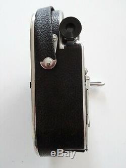 Ancienne camera PAILLARD BOLEX H16 S Supreme three kern movie film 1954