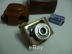 Appareil Miniature Couleur rose / doré + 1 boite de pellicule TBE