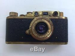 Appareil Photo Ancien Leica Made In USSR en bon etat avec son étui