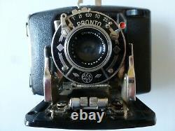 Appareil Photo Folding En Bakelite Noire Ebner Stuttgart Vaihingen De 1934