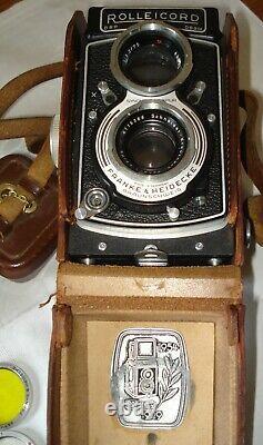 Appareil Photo Rolleicord DBP DBGM Franke & Heidecke Braunschweig Germany