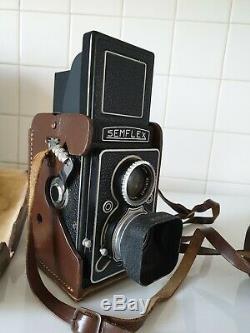 Appareil Photo argentique 6 x 6 Semflex Berthiot superbe 3,5