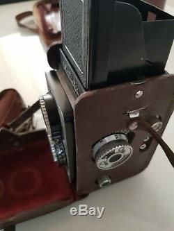 Appareil Photos SEMFLEX complet avec Accessoires et Sacoche en Cuir