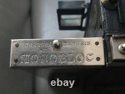 Appareil Stéréoscopique ancien LE MONOBLOC V. LIEBE + Accessoires + Sacoche