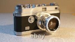 Appareil photo FOCA PF3L 3 Étoiles OPLAREX 119 f=5cm Etui cuir Foca Camera FOCA