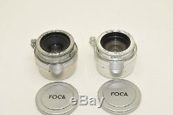 Appareil photo FOCA Universel. Set complet dans rare mallette cuir
