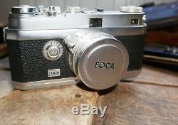 Appareil photo Foca Universel, Oplarex F5cm, étui, filtres, accessoires
