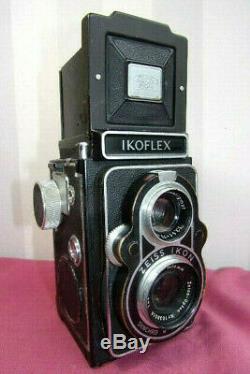 Appareil photo Ikoflex Zeiss Ikon Syncro & Compur + sacoche. (rare)