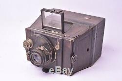 Appareil photo Jumelle Photographique Bellieni. Format 9x12 cm. Etat moyen