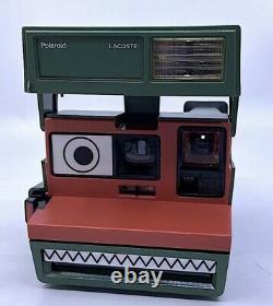 Appareil photo Lacoste x Polaroid 600 Instant Film