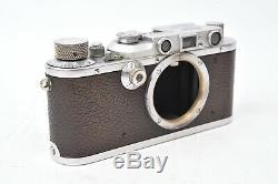 Appareil photo Leica IIIa. Boitier seul. Fonctionne parfaitement