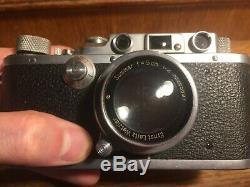 Appareil photo Leica IIIa fabriqué en 1939