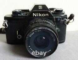 Appareil photo NIKON EM argentique 35 mm camera Japan