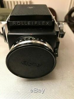 Appareil photo ROLLEIFLEX SL66 avec mallette et accessoires