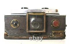 Appareil photo STEREO ancien NIL-MELIOR 6X13 BERTHIOT EURYGRAPHE. 1920/1921