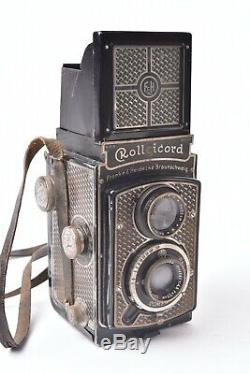 Appareil photo TLR Rolleicord Art Deco avec objectif Triotar f/4.5 75mm