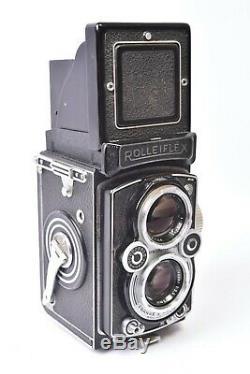 Appareil photo TLR Rolleiflex 3.5B objectif Tessar f/3.5 75mm. #1496544