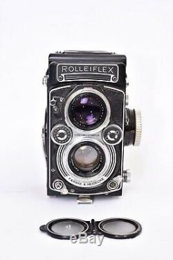 Appareil photo TLR Rolleiflex 3.5 E3 avec objectif Planar f/3.5 75mm. #2382074