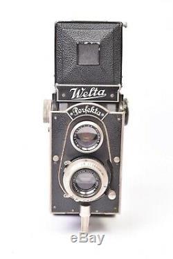Appareil photo TLR Welta Perfekta avec objectif Tessar f/3.8 75mm