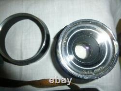 Appareil photo ancien ICAREX 35 S TM ikobltitz 5 Zeiss IKON Tessar 2.8/50 rare