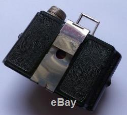 Appareil photo camera miniature bakélite verte marbrée NORI 1935