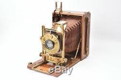 Appareil photo folding, Heag XI Ernemann modèle colonial
