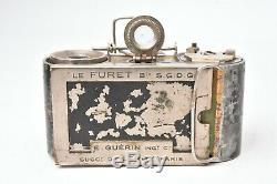 Appareil photo miniature Le Furet par Guerin. 1er modèle. Incomplet