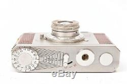 Appareil photo miniature Luxia II Luxe avec objectif Delmak f/2.9 27mm. Etui